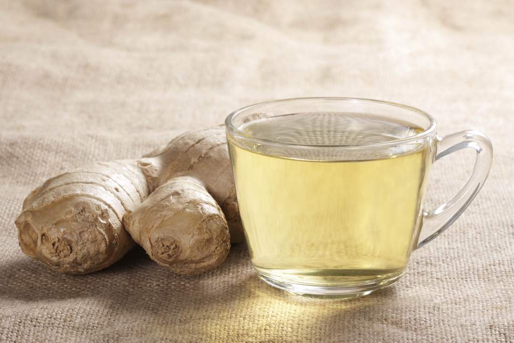 Using ginger tea as a way to detoxify the body from the effects of anesthesia may work