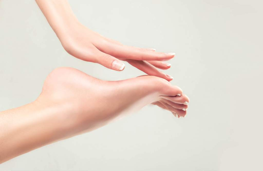 Sweaty feet can be caused by a condition called hyperhidrosis. The condition is one of excessive sweating and affects your palms